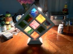 wood glass grid mosaic1