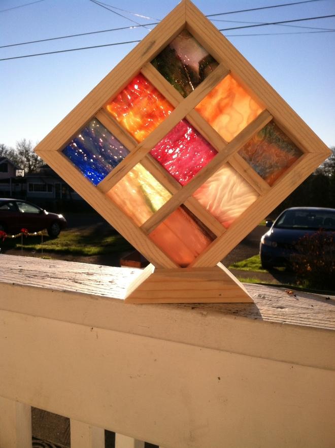 wood glass grid mosaic2