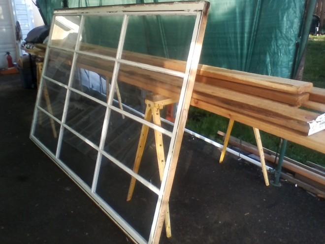 wood and window